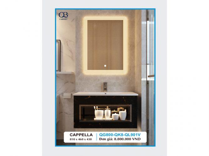 Tủ chậu Lavabo CAPPELLA QG800-QK8-QL901V