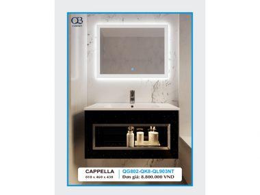 Tủ chậu Lavabo CAPPELLA QG802-QK8-QL903NT