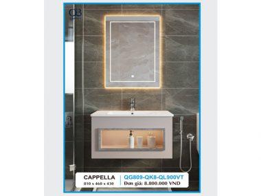 Tủ chậu Lavabo CAPPELLA QG809-QK8-QL900VT