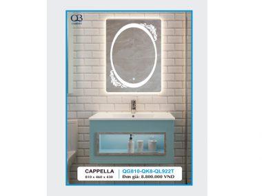 Tủ chậu Lavabo CAPPELLA QG810-QK8-QL922T
