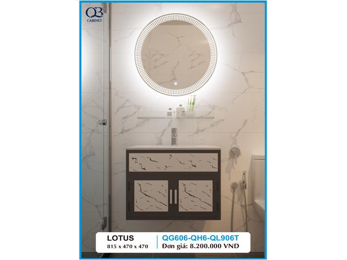 Tủ chậu Lavabo Lotus QG606-QH6-QL906T