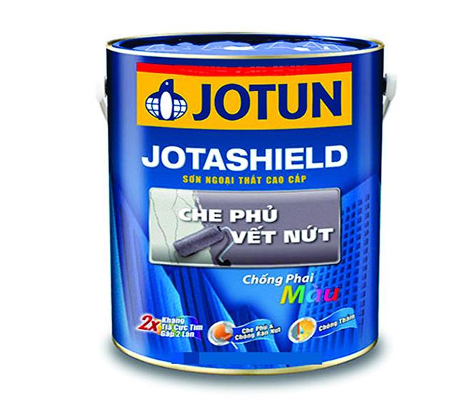 Sơn phủ ngoại thất Jotashield che phủ vết nứt-2