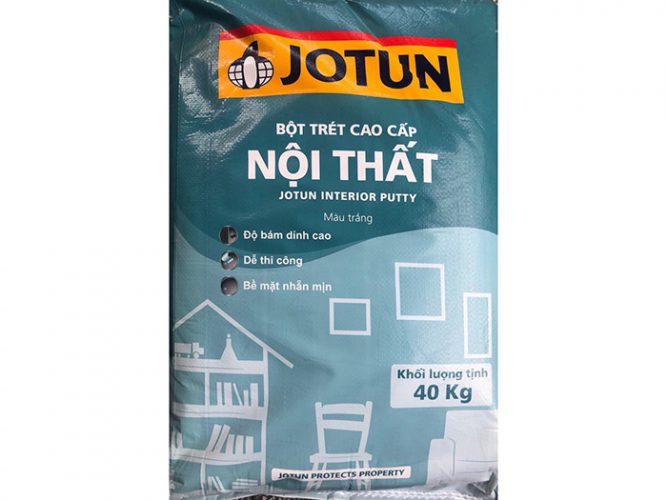 Bột trét nội thất Jotun interior putty cao cấp 40kg