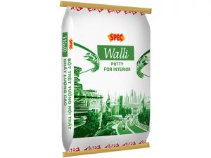 Bột trét tường nội thất Spec willi putty for interior chất lượng cao