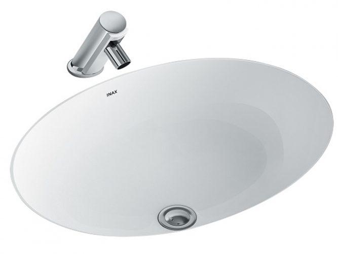 Chậu Lavabo Inax AL-2293V Âm Bàn Aqua Ceramic