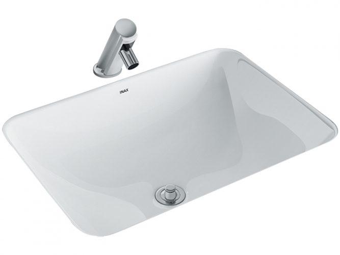 Chậu Lavabo Inax AL-2298V Âm Bàn Aqua Ceramic