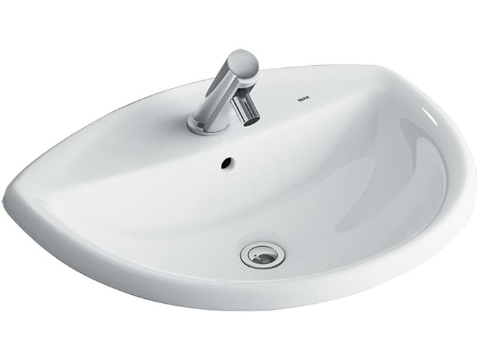 Chậu Lavabo Inax AL-2396V Âm Bàn Aqua Ceramic