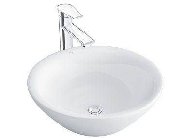 Chậu Lavabo Inax AL-445V Đặt Bàn Aqua Ceramic