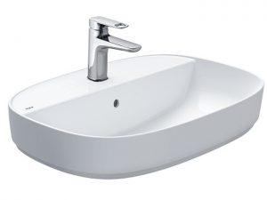 Chậu Lavabo Inax AL-652V Đặt Bàn Aqua Ceramic