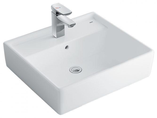 Chậu Rửa Mặt Lavabo Inax AL-293V Đặt Bàn Aqua Ceramic