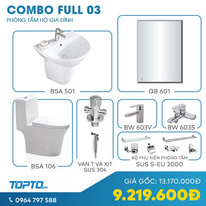 Combo thiết bị vệ sinh full CB03 hiện đại-3