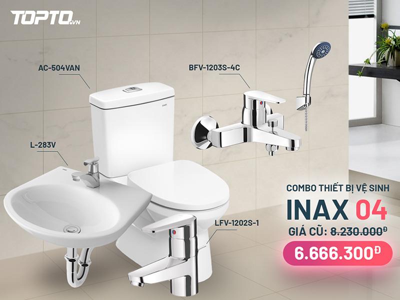 Combo thiết bị vệ sinh inax CB004 giá tốt