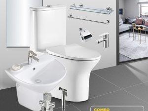 Combo thiết bị vệ sinh tiết kiệm full CB01-7-1