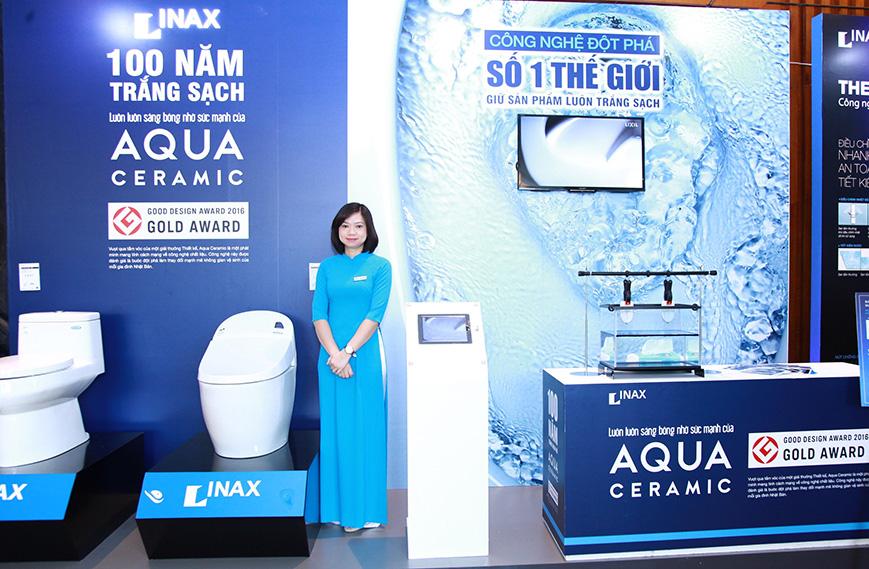 Công nghệ Aqua ceramic của Inax