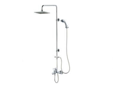 Sen cây nóng lạnh kết hợp sen tắm đứng S493C-BS124