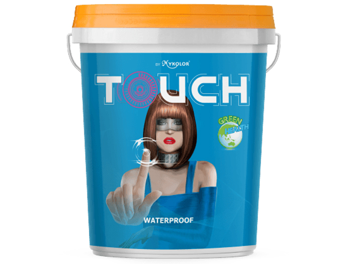 Sơn chống thấm Mykolor touch water proof gốc xi măng-1