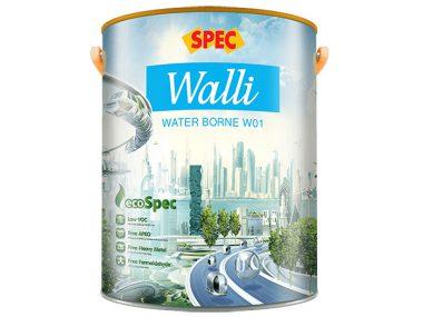 Sơn chống thấm Spec walli water borne W01 cao cấp, đa chức năng