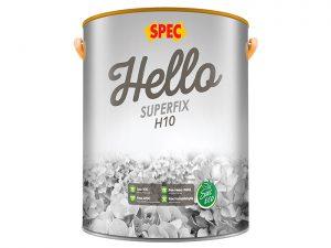 Sơn chống thấm trực tiếp tường chức năng kép Spec hello superfix H10