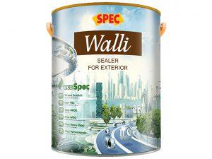 Sơn lót chống kiềm ngoại thất Spec walli sealer for exterior cao cấp
