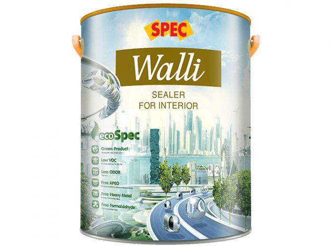 Sơn lót chống kiềm nội thất Spec walli sealer for interior cao cấp