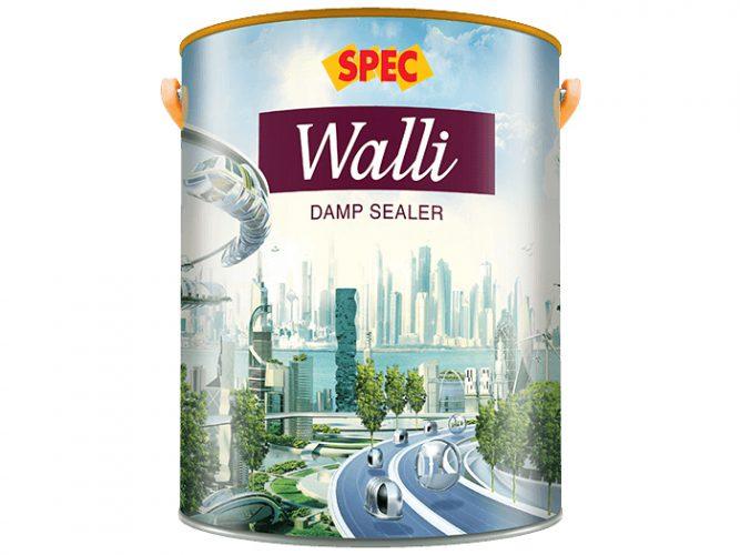 Sơn lót gốc dầu Spec walli damp sealer chống thấm ngược đặc biệt