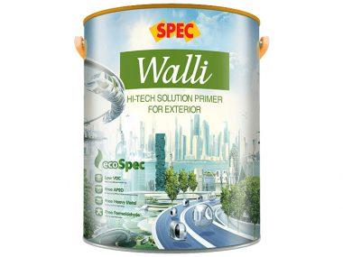 Sơn lót nano Spec walli hi-tech solution primer for exterior chuyên dụng