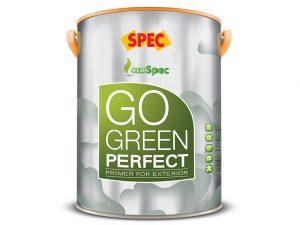 Sơn lót ngoại thất Spec go green perfect primer for exterior siêu kháng kiềm và kháng muối