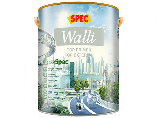 Sơn lót ngoại thất Spec walli top primer for exterior siêu kháng kiềm, kháng muối