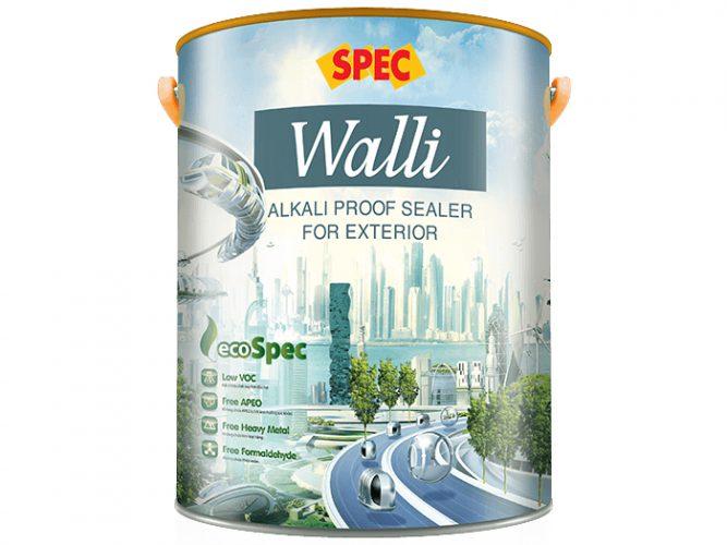 Sơn lót Spec walli alkali proof sealer for exterior chống thấm, chống kiềm chuyên dụng