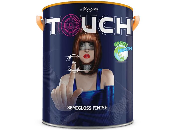 Sơn ngoại thất bóng Mykolor touch semigloss finish