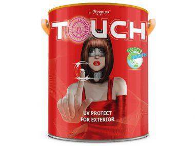 Sơn ngoại thất Mykolor touch UV protect for exterior chống bám bẩn, chống phai màu