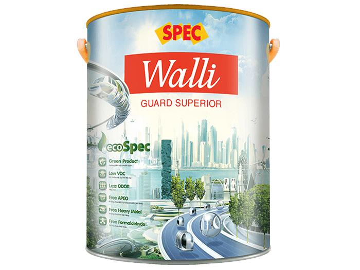 Sơn ngoại thất Spec walli guard superior bảo vệ vượt trội