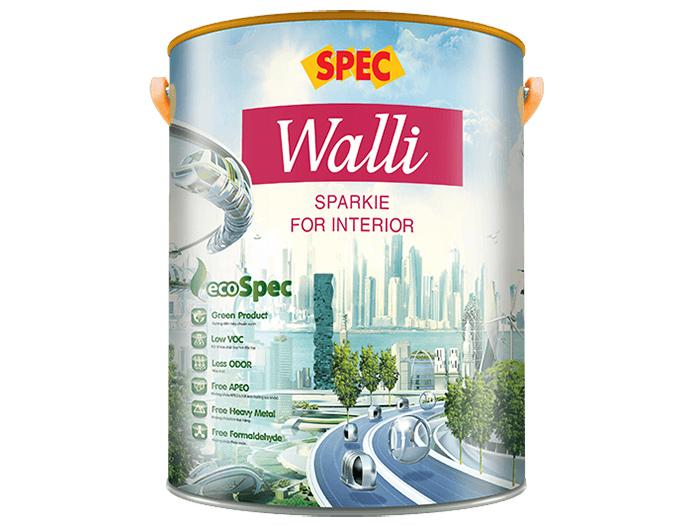 Sơn nội thất bóng Spec walli sparkie for interior cao cấp