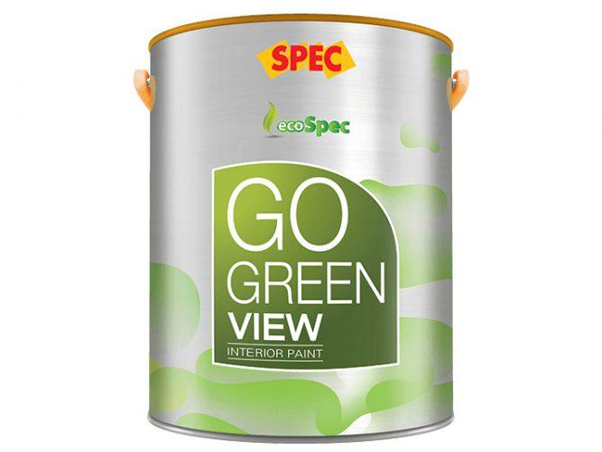 Sơn nội thất mờ cổ điển Spec go green view interior paint cao cấp