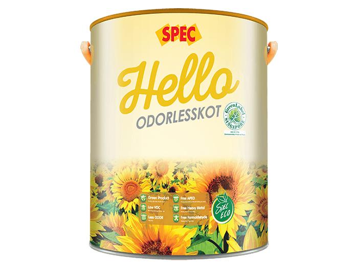 Sơn nội thất mùi tự nhiên Spec hello odorlesskot-1