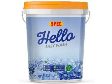 Sơn nước nội thất dễ lau chùi Spec hello easy wash-2
