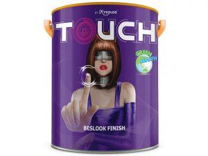Sơn nước nội thất Mykolor touch beslook finish đẹp đẳng cấp
