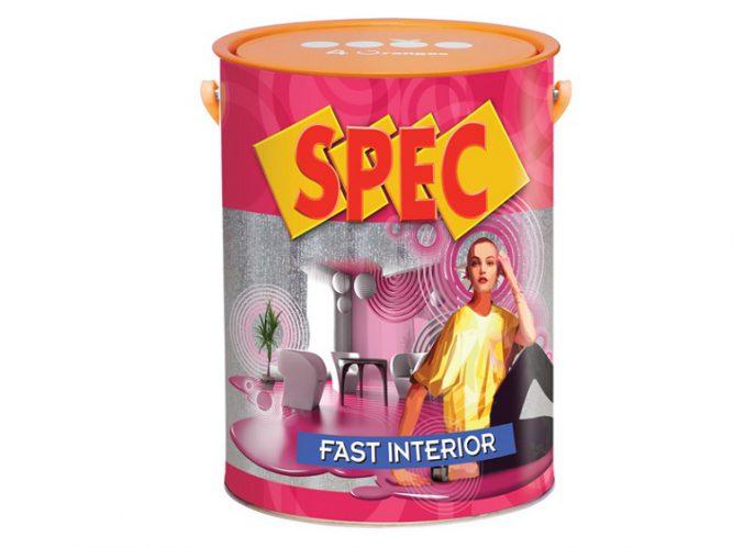 Sơn nước nội thất Spec fast interior