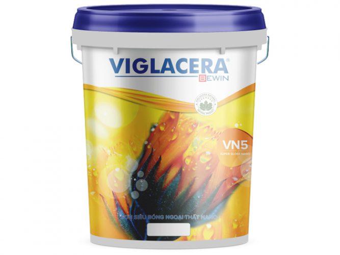 Sơn phủ ngoại thất siêu bóng nano Viglacera - Super Gloss Nano