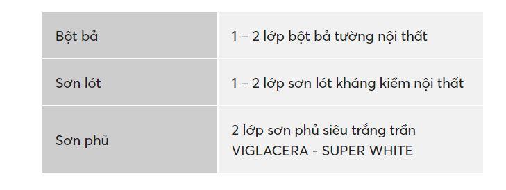 Sơn trần siêu trắng Viglacera - Super White-03