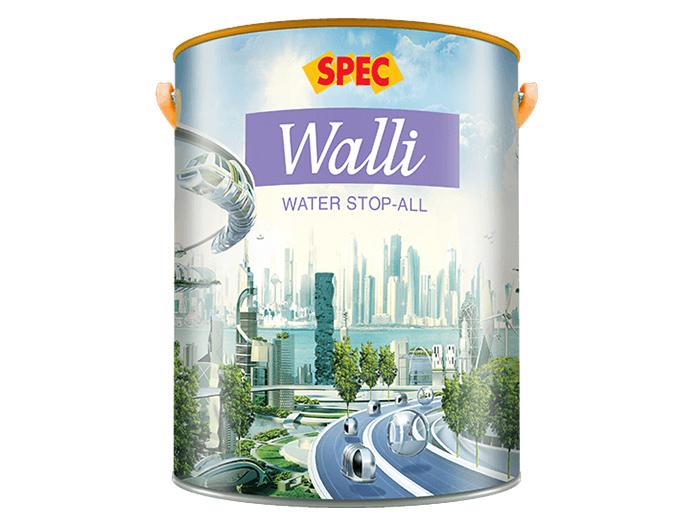 Sơn chống thấm Spec walli water stop-all ngăn nước gốc xi măng
