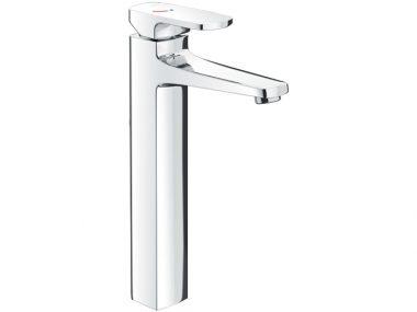 Vòi lavabo để bàn Inax LFV-5000SH cổ cao nóng lạnh