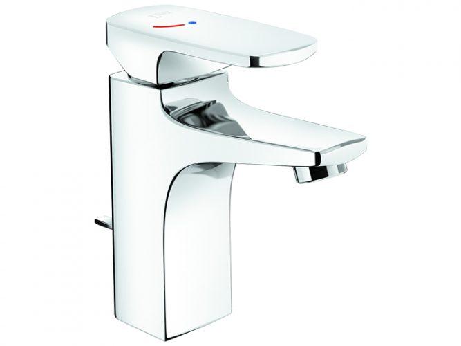 Vòi lavabo Inax LFV-5002S nóng lạnh Ecohandle