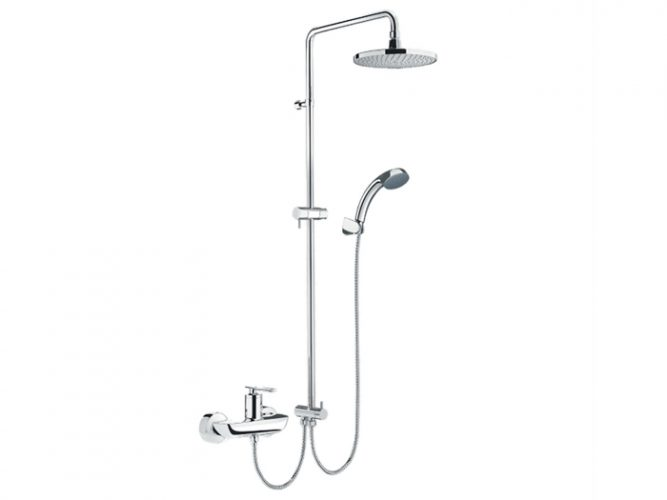 Vòi sen cây tắm Inax BFV-41S-5C nóng lạnh