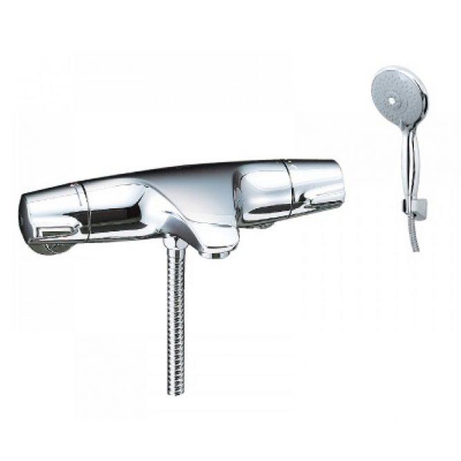 Vòi sen tắm nhiệt độ inax BFV-5103T-3C tay sen massage-1