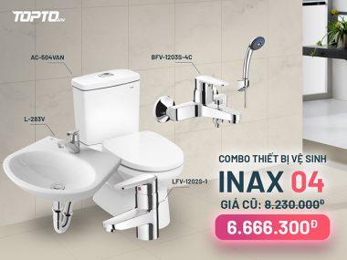 Combo thiết bị vệ sinh inax CB004 giá tốt-2