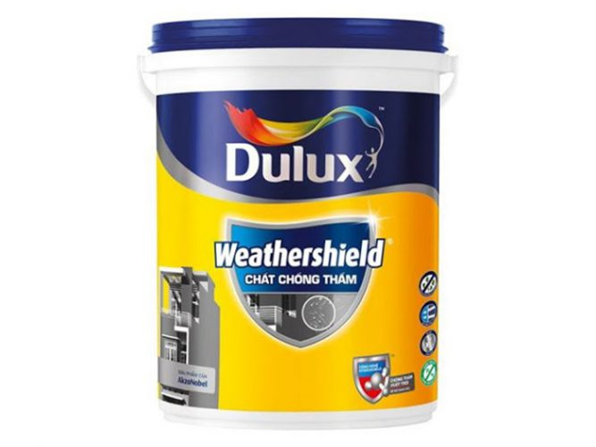 Chất chống thấm WeatherShield-Y65 Dulux 20kg