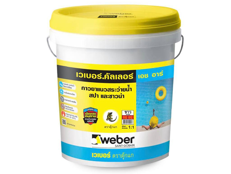 Keo chà mạch Weber.color HR 3kg