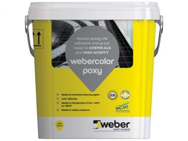 Keo dán gạch và chà ron Weber.color Poxy 5kg