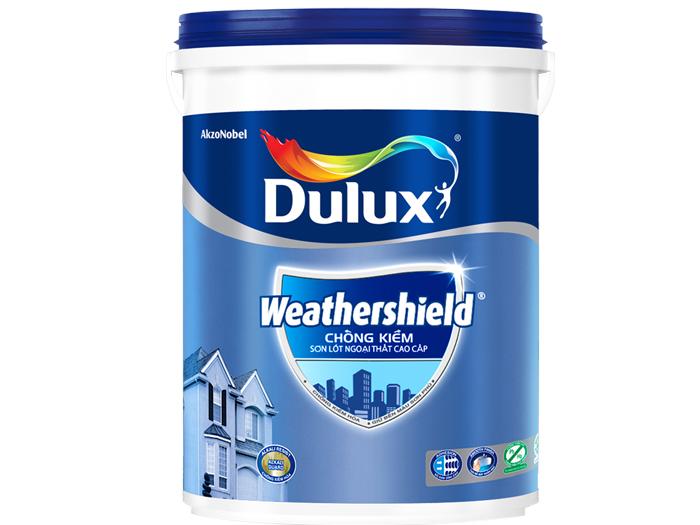 Sơn lót ngoại thất Dulux weathershield chống kiềm 18L-1